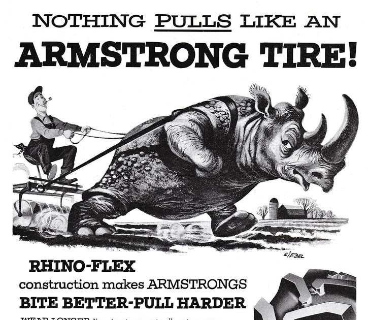 armstrong tire ads